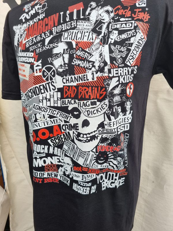 North American Punk – Collage T Shirt