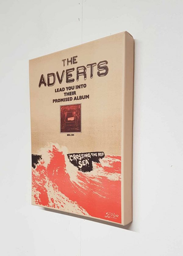 The Adverts – Crossing the Red Sea Canvas