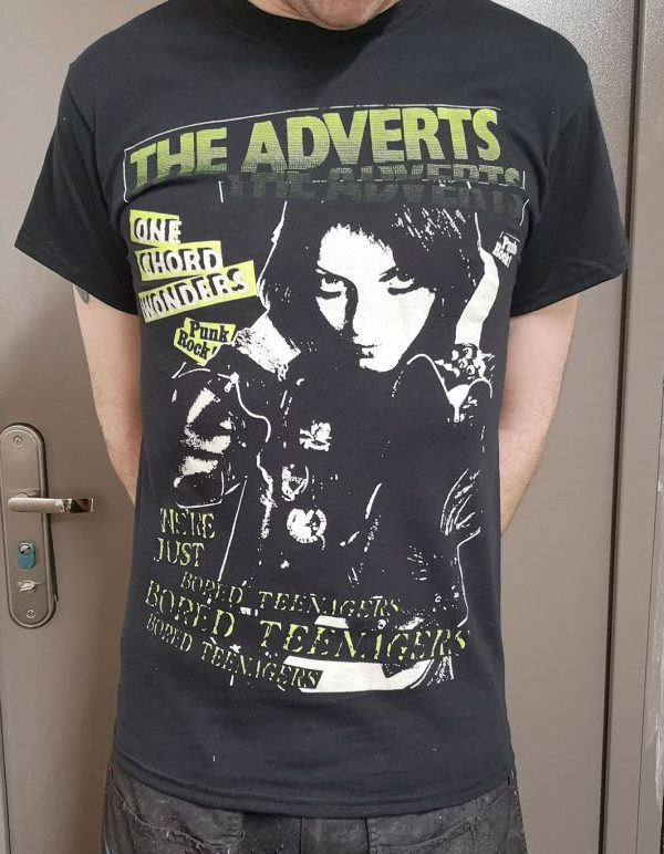 The Adverts – Gaye Advert Bored Teenagers T Shirt