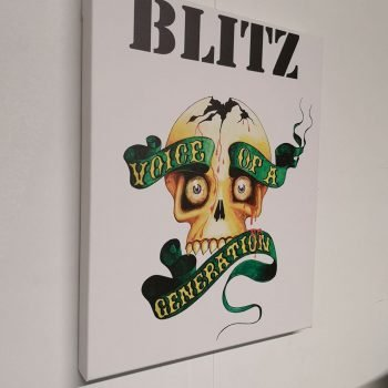 Blitz – All Out Attack / Razors T Shirt