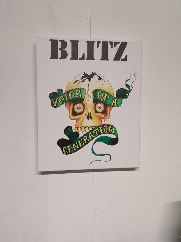 Blitz – Voice of a Generation Canvas
