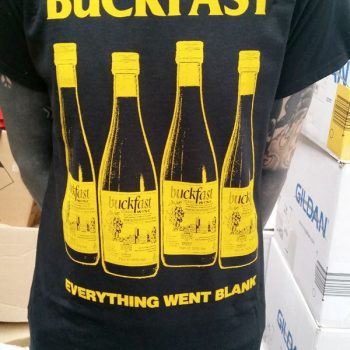 Buckfast – Everything Went Blank Hoodie