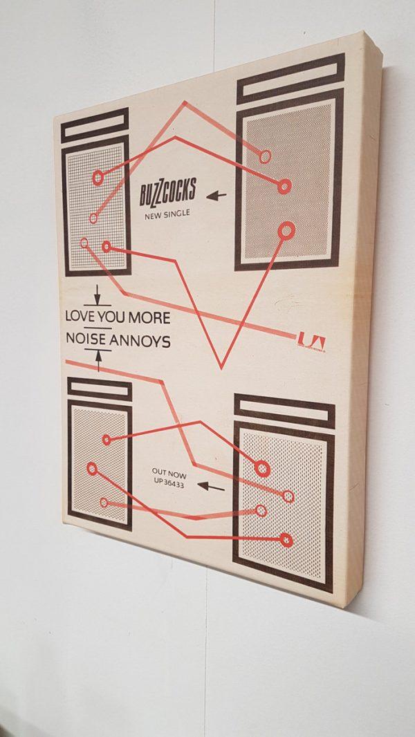 Buzzcocks – Love You More / Noise Annoys Canvas