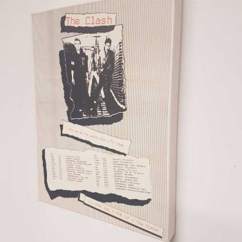 The Clash – Bonds Casino Portrait Canvas
