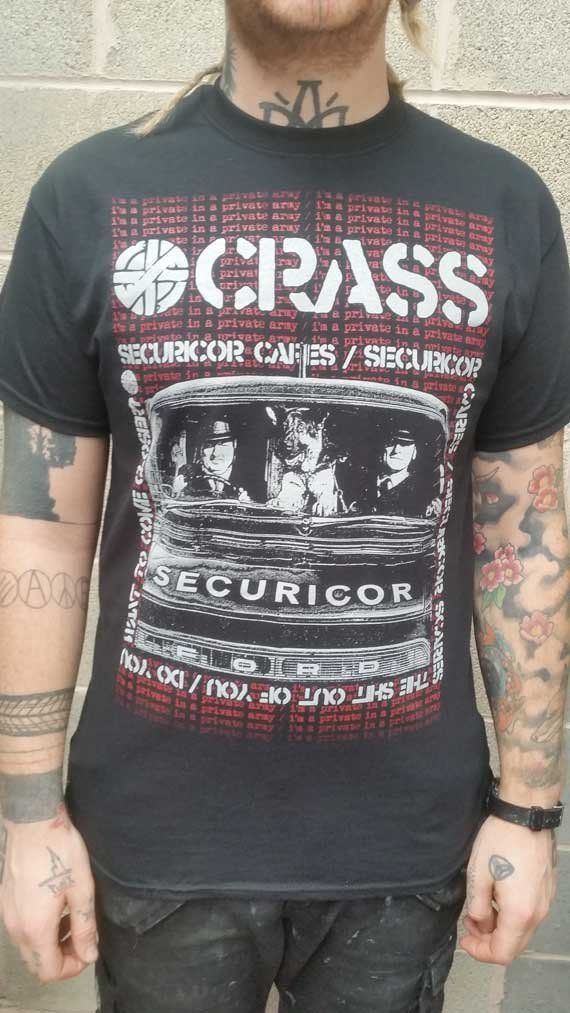 Crass – Securicor T Shirt