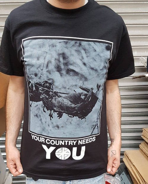 Crass – Your Country Needs You T Shirt