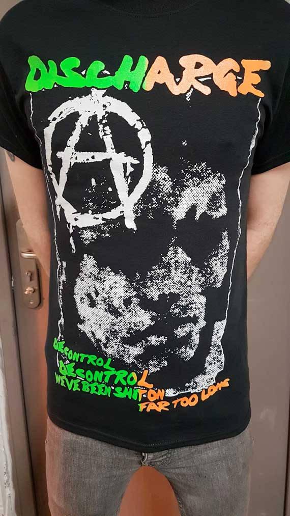 Discharge – Decontrol T Shirt