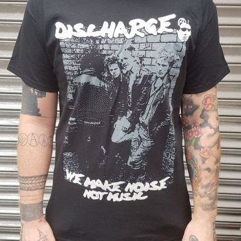 Discharge – Noise Not Music Hoodie