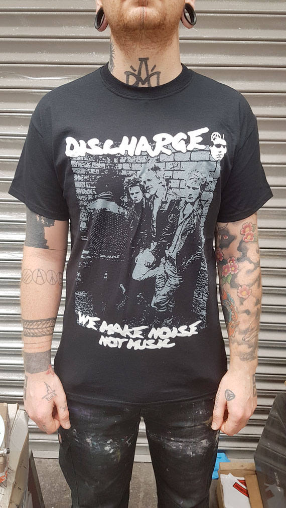 Discharge – Noise Not Music T Shirt