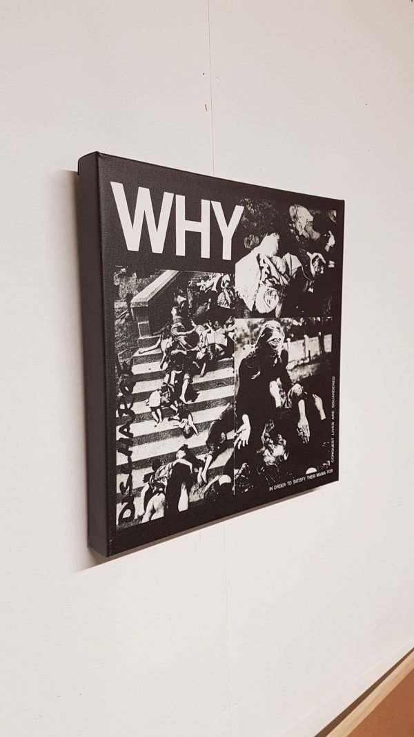 Discharge – Why? Canvas