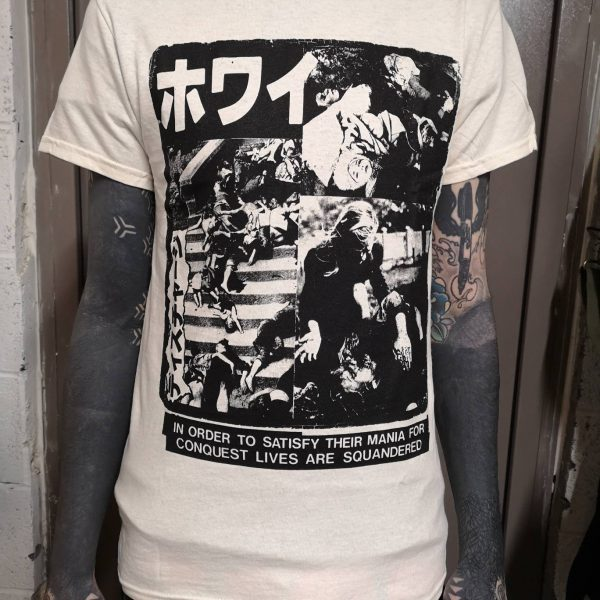 Discharge – Why? Japan Natural T Shirt