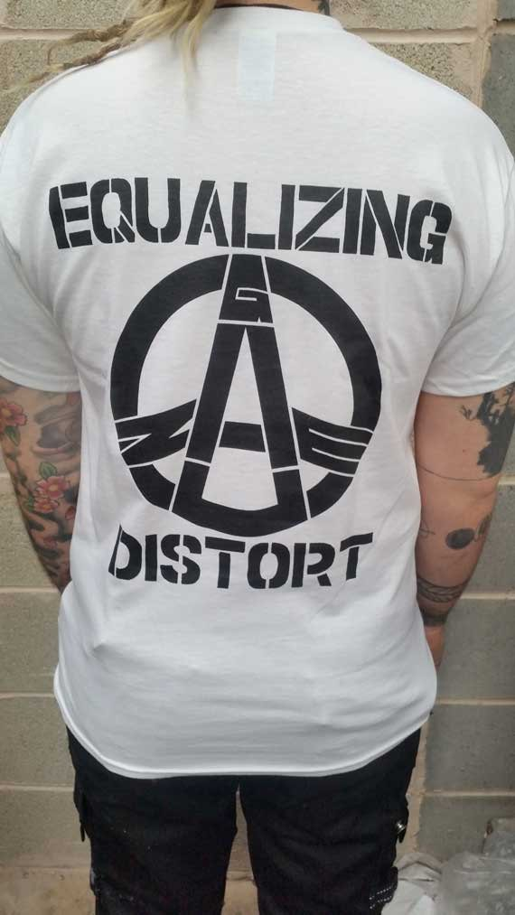 Gauze – Equalizing Distort T Shirt