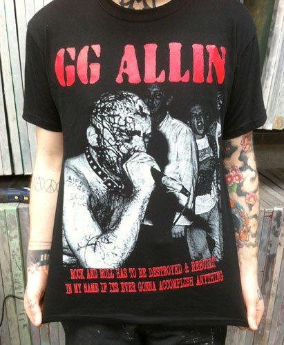 GG Allin –  T Shirt