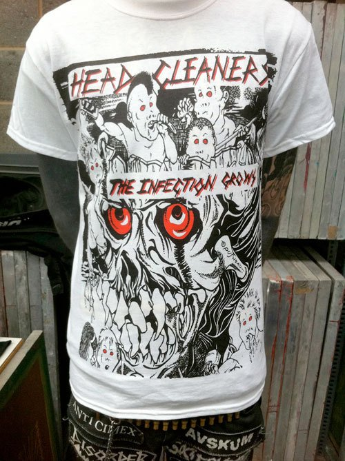 Headcleaners – Infection Grows T Shirt