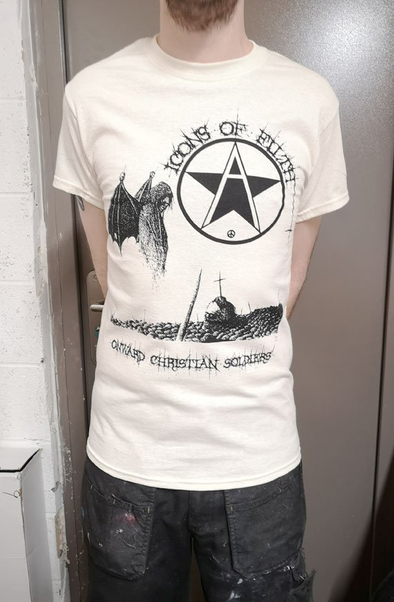 Icons of Filth – Onward Christian Soldiers T Shirt