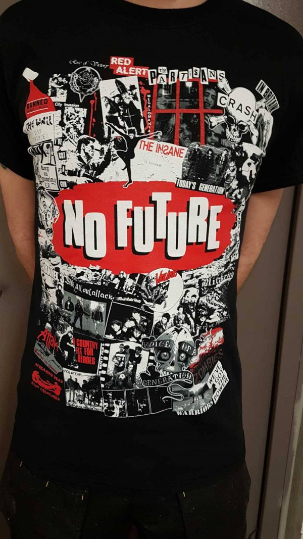No Future Records – Collage T Shirt