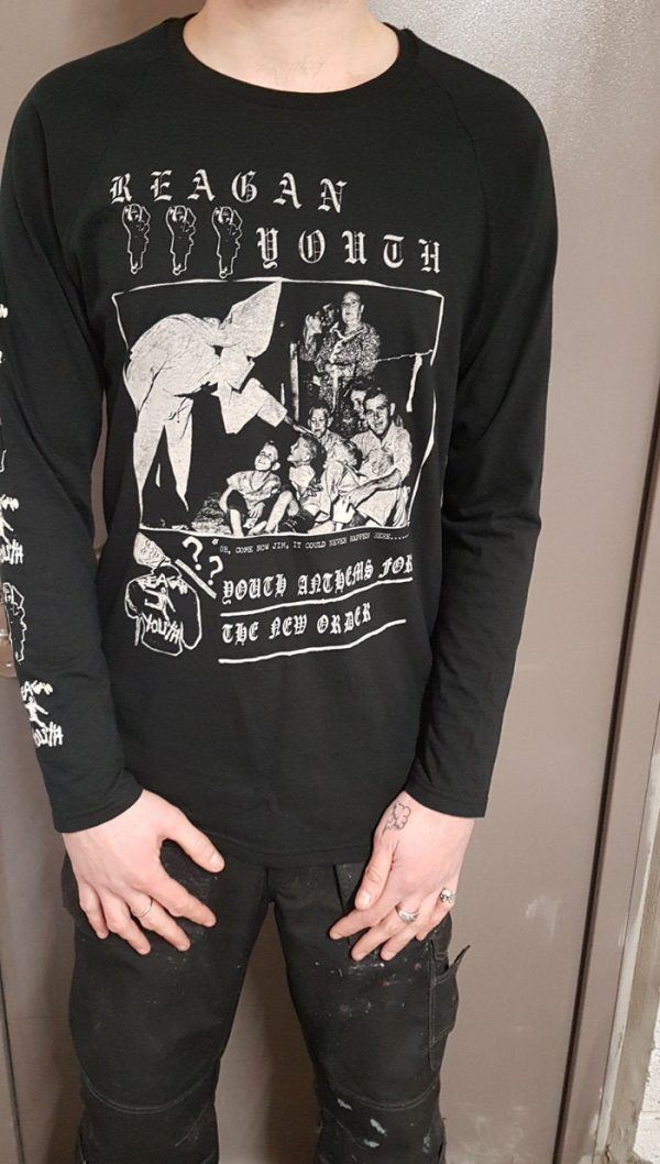 Reagan Youth – Youth Anthems Long Sleeve