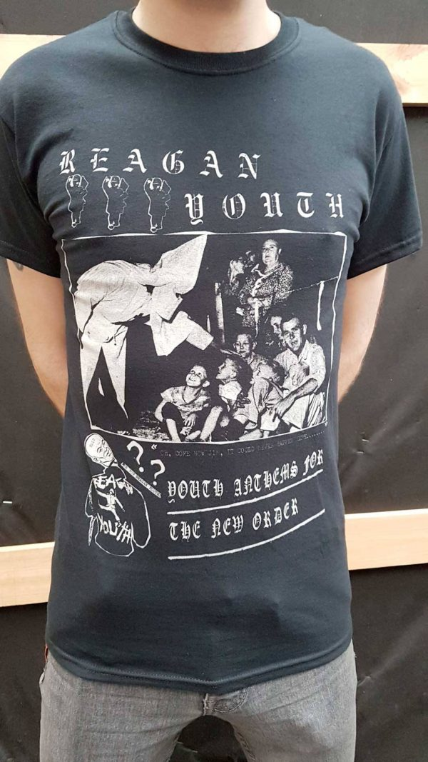 Reagan Youth – Youth Anthems T Shirt