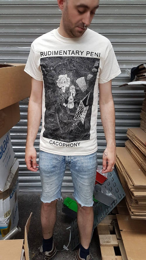 Rudimentary Peni – Cacophony T Shirt