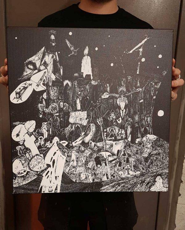 Rudimentary Peni – Death Church Canvas