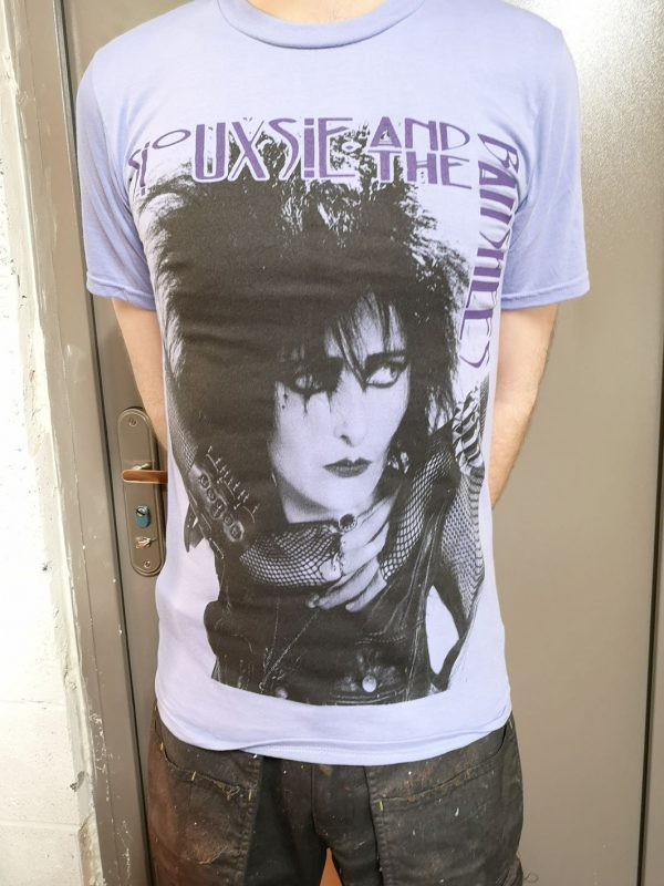 Siouxsie and the Banshees – Portrait Purple T Shirt