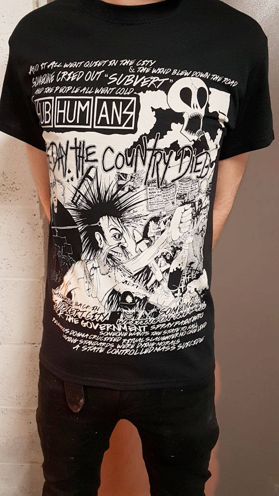 Subhumans – Day the Country Died T Shirt