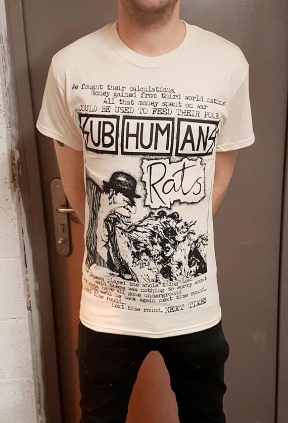 Subhumans – Rats T Shirt