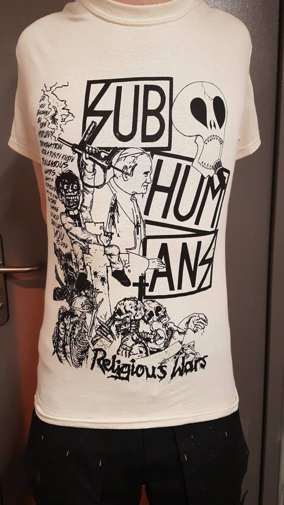 Subhumans – Religious Wars T Shirt