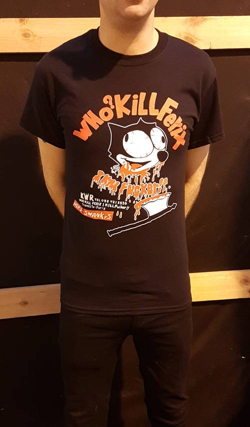 The Swankys – Who Killed Ferix? T Shirt