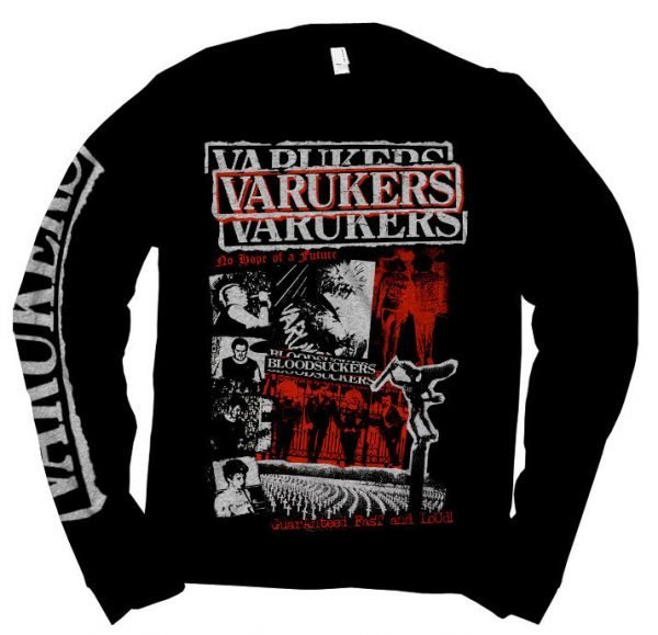 Varukers – Early Years Collage Long Sleeve