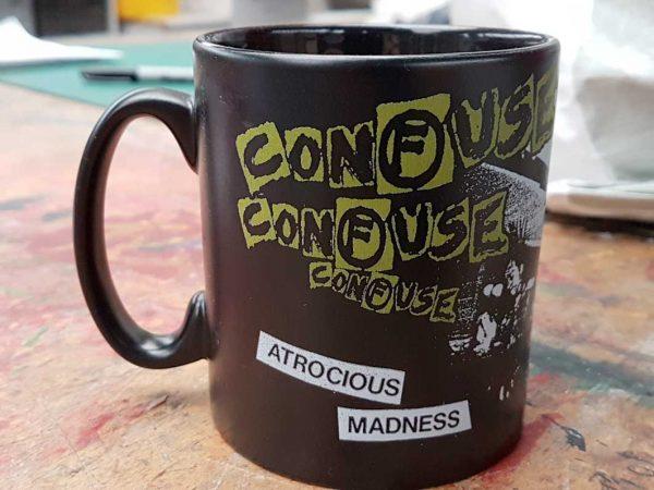 Confuse – Atrocious Madness Mug