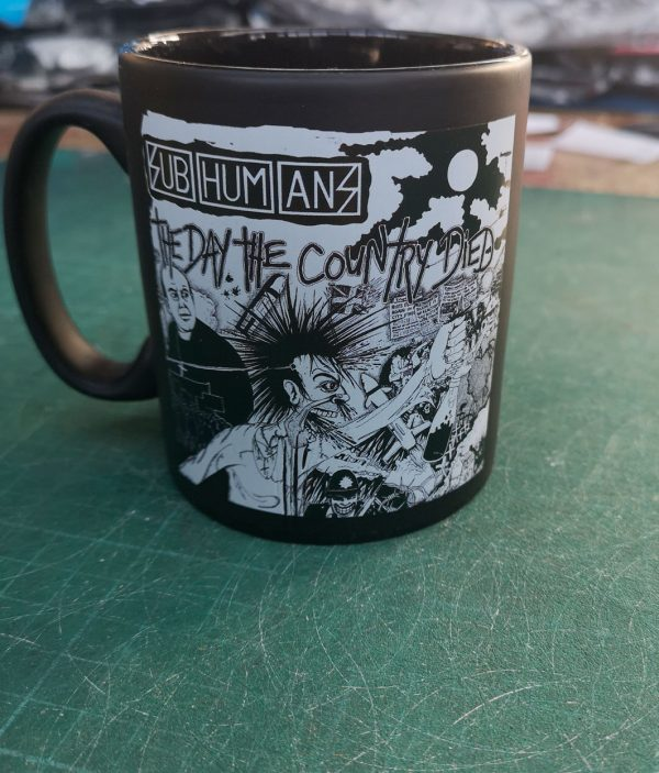 Subhumans – Day the Country Died Mug