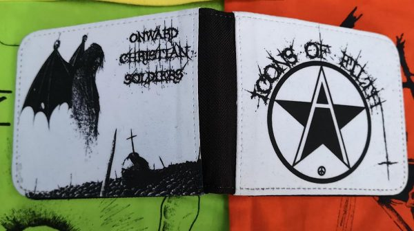 Icons of Filth – Logo / Onwards Christian Soldiers Wallet