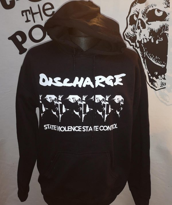 Discharge – State Violence State Control 2  Hoodie