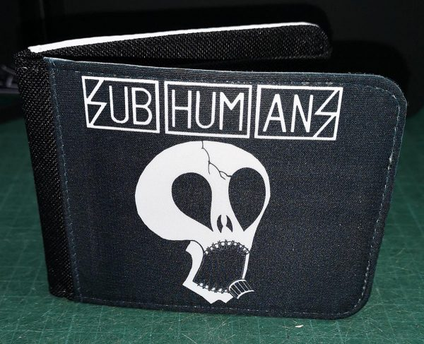 Subhumans – Drink Sex Cigarettes Wallet