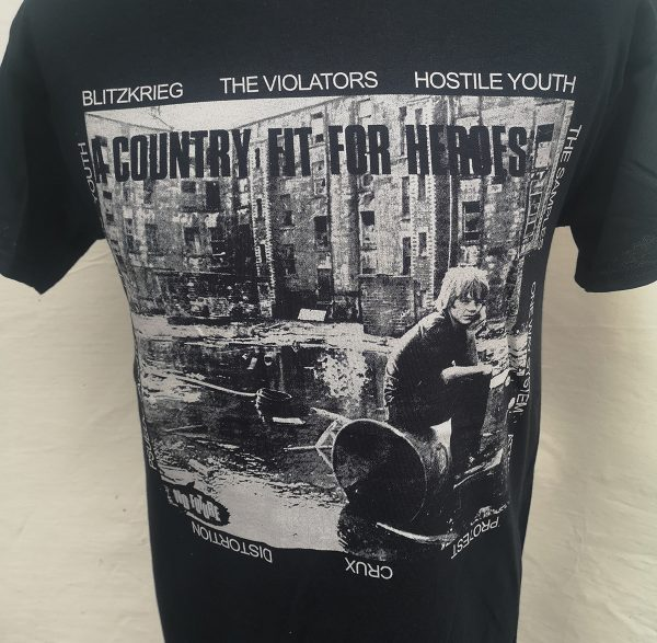 Country Fit For Heroes – compilation T Shirt
