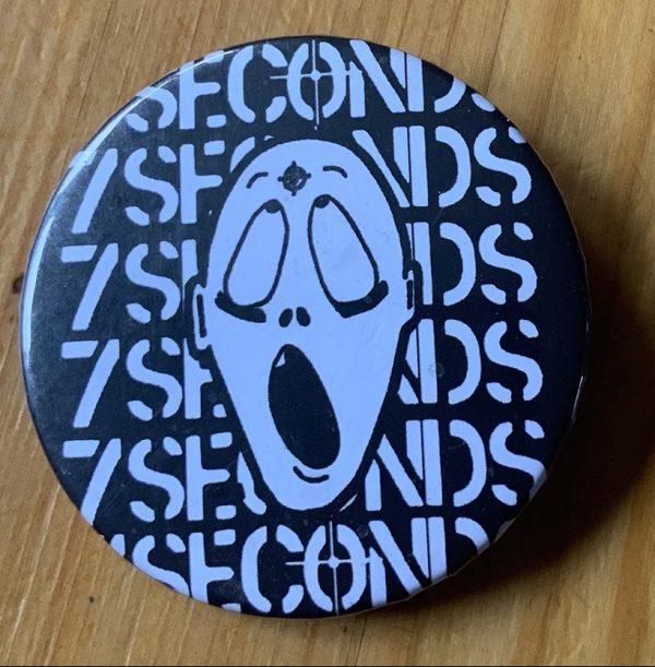 7 Seconds – 7 Seconds Logo Binlid 52mm Badge