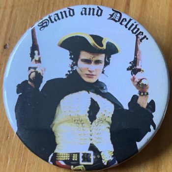 Adam & The Ants – Prince Charming Binlid 52mm Badge