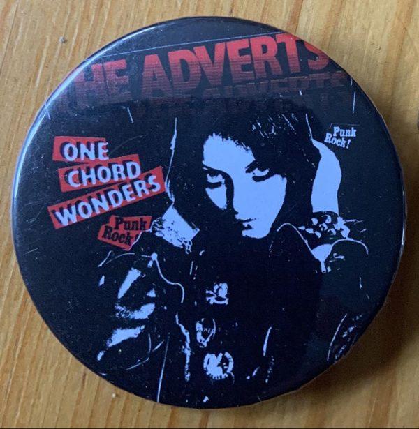 The Adverts – Gaye Advert Binlid 52mm Badge