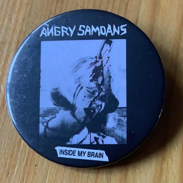 Angry Samoans – Inside My Brain Binlid 52mm Badge