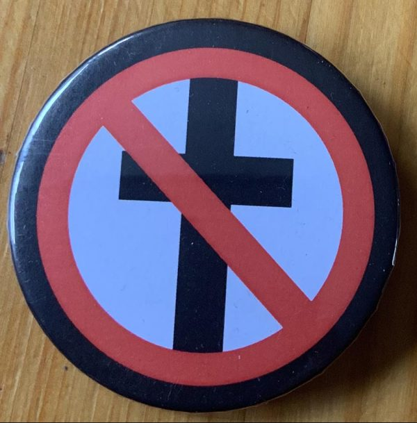 Bad Religion – Cross Buster Binlid 52mm Badge