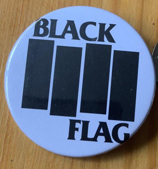 Black Flag – Black Flag Bars Binlid 52mm Badge