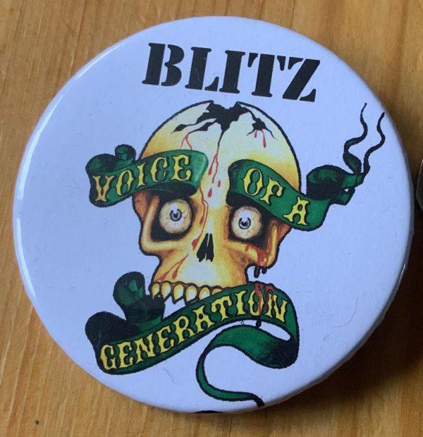 Blitz – Voice of a Generation Binlid 52mm Badge