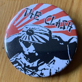 The Clash – Give 'Em Enough Rope Binlid 52mm Badge