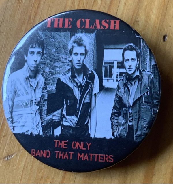 The Clash – The Only Band That Matters Binlid 52mm Badge