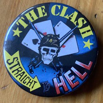The Clash – Bonds Casino Portrait Canvas