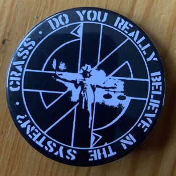 Crass – There Is No Authority T Shirt