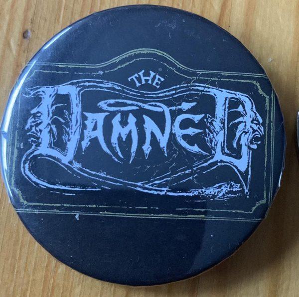 The Damned – The Damned Logo Binlid 52mm Badge